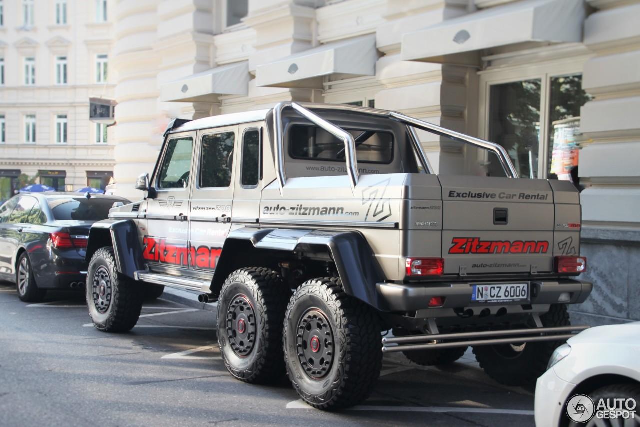 MercedesBenz Brabus B63S 700 6x6  24 January 2017  Autogespot