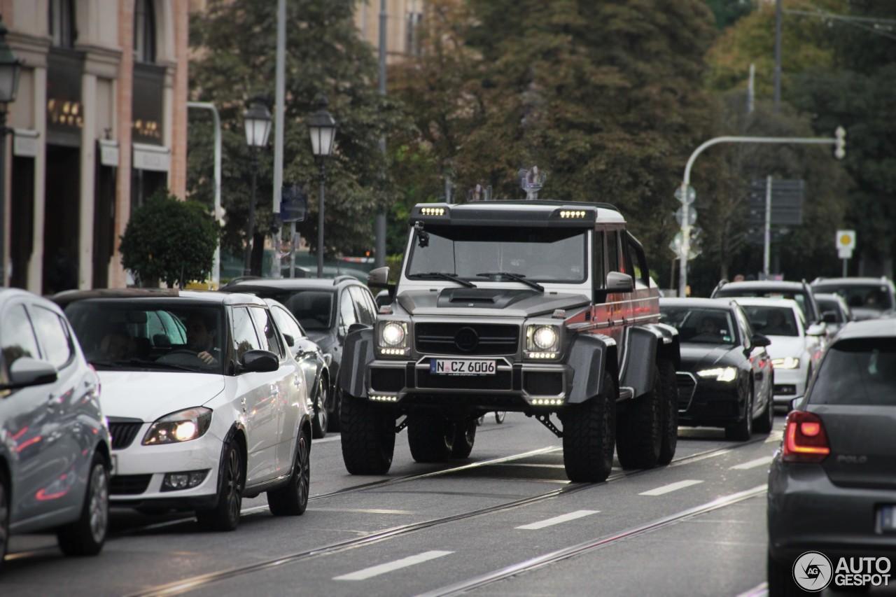 Mercedes Benz Brabus B63s 700 6x6 24 January 2017