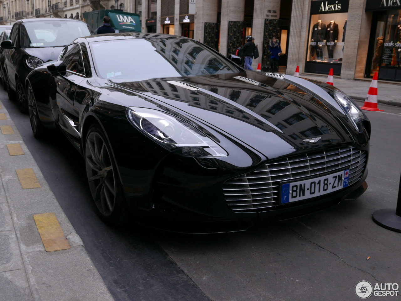 aston martin one 77 25 january 2017 autogespot. Black Bedroom Furniture Sets. Home Design Ideas