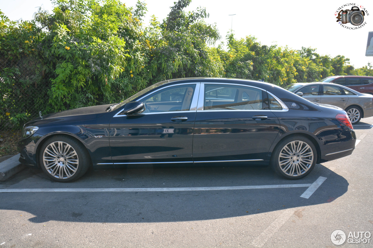 Mercedes maybach s600 25 january 2017 autogespot for 2017 mercedes benz s600