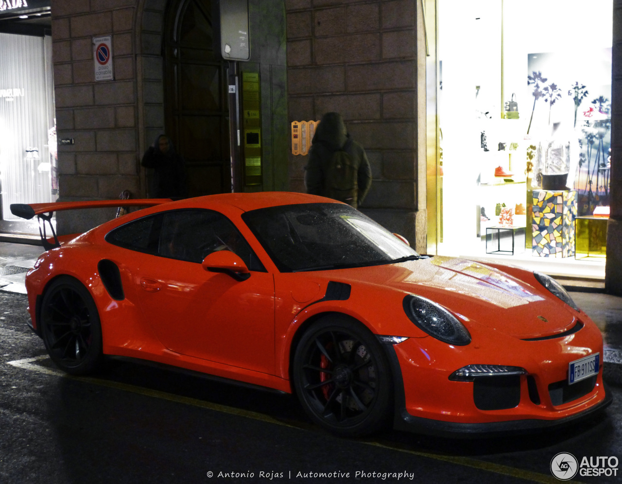 porsche 991 gt3 rs 25 january 2017 autogespot. Black Bedroom Furniture Sets. Home Design Ideas