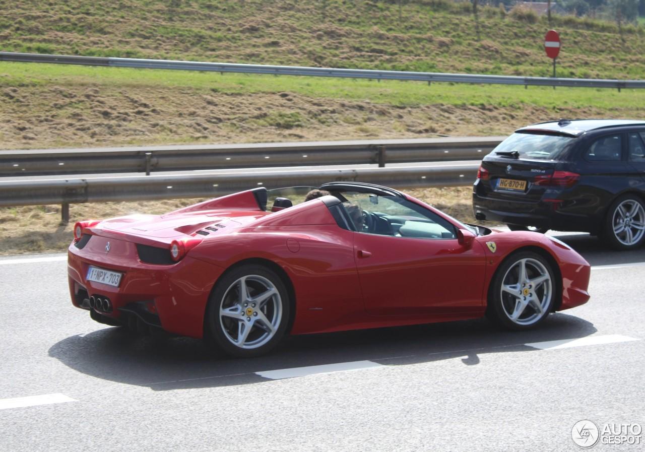 Ferrari 458 Spider - 26 January 2017 - Autogespot
