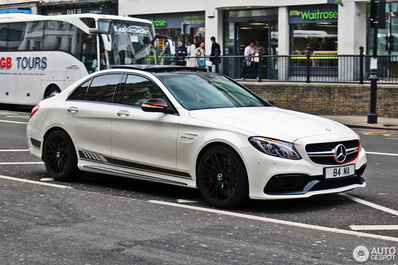 mercedes amg c 63 s w205 edition 1 27 january 2017 autogespot. Black Bedroom Furniture Sets. Home Design Ideas