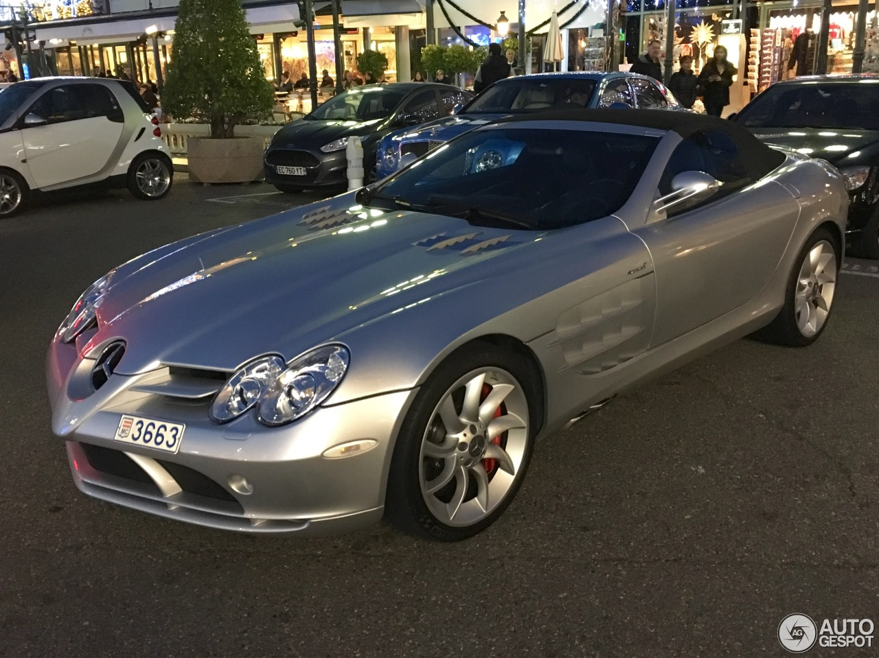 mercedes benz slr mclaren roadster 27 january 2017