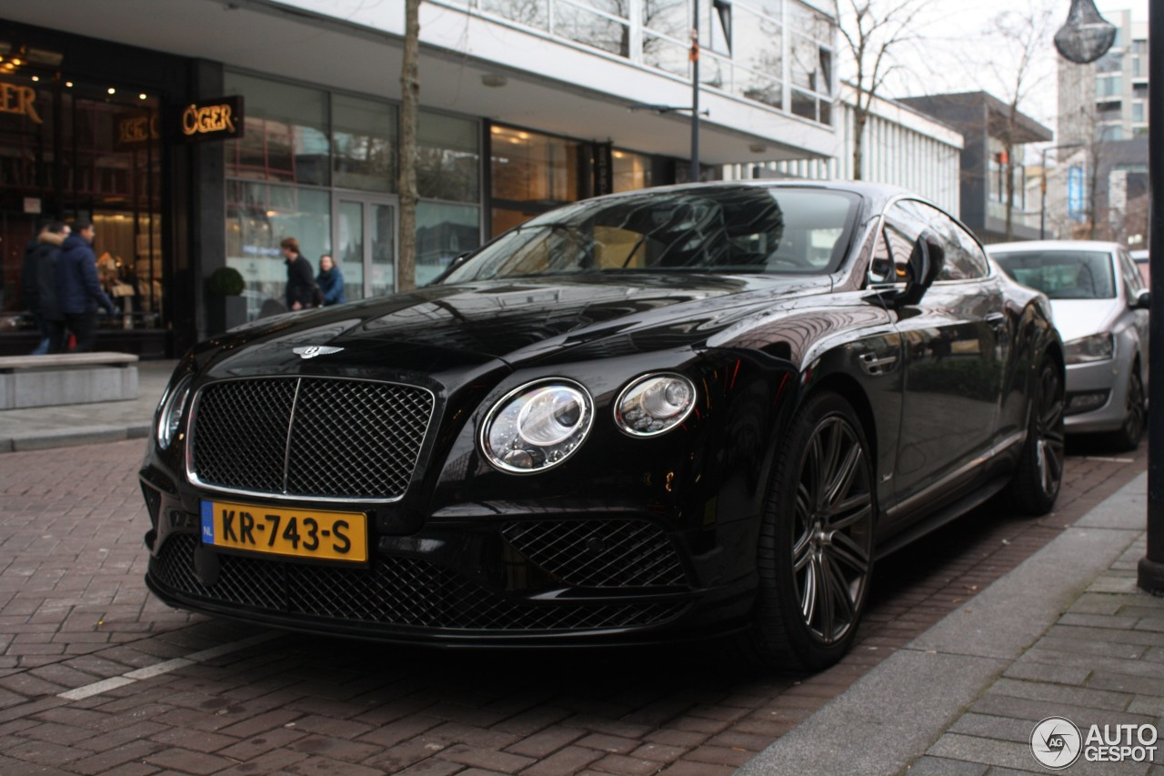 bentley continental gt speed 2016 28 januari 2017 autogespot. Black Bedroom Furniture Sets. Home Design Ideas