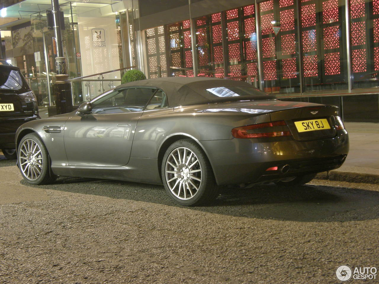 Aston Martin DB9 Volante - 29 January 2017 - Autogespot