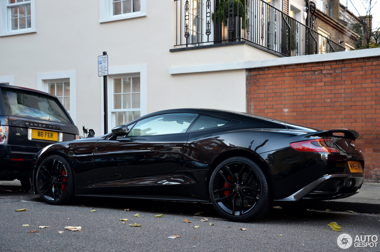 Aston Martin Vanquish Carbon Black Edition January - Black aston martin vanquish