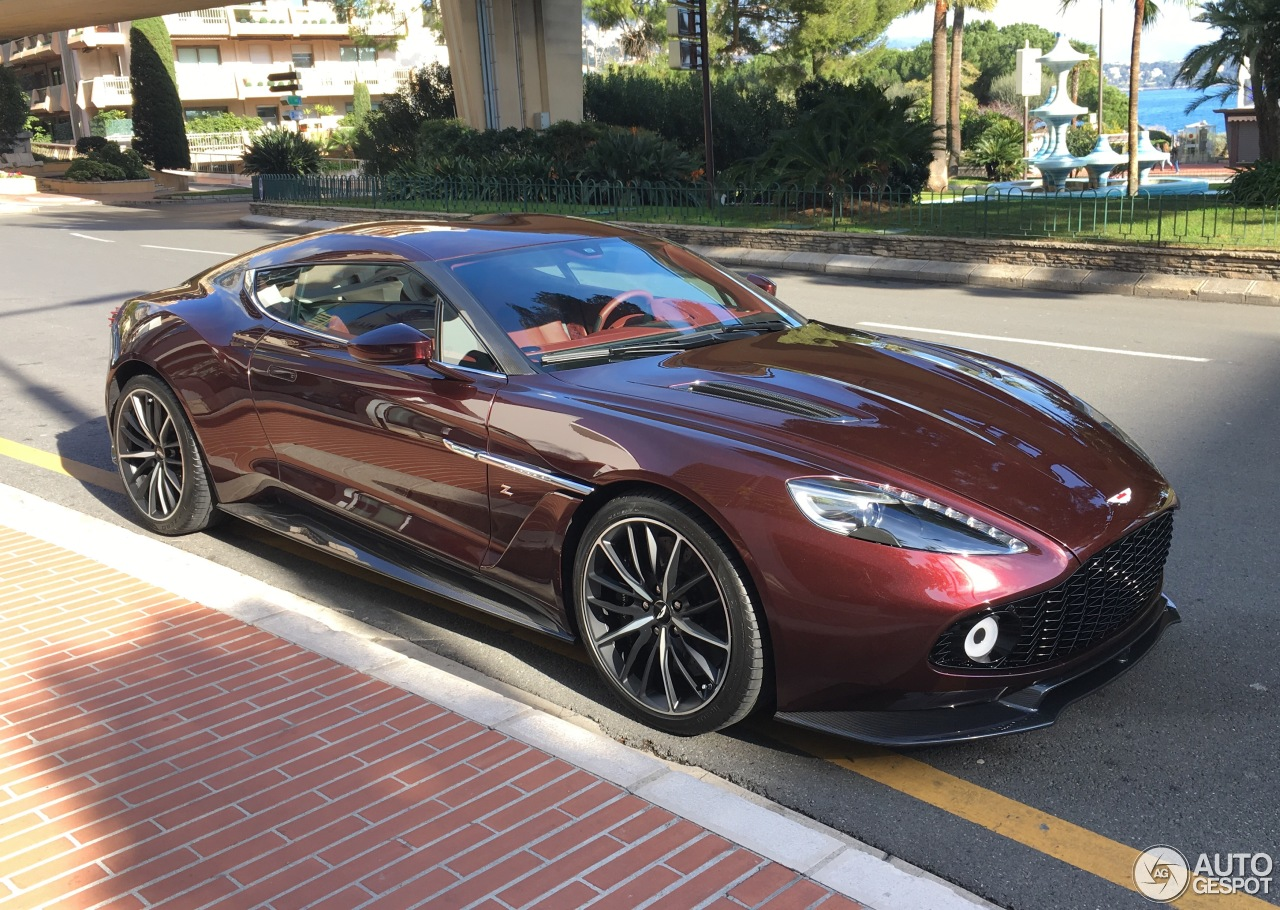 Aston Martin Vanquish Zagato 29 January 2017 Autogespot