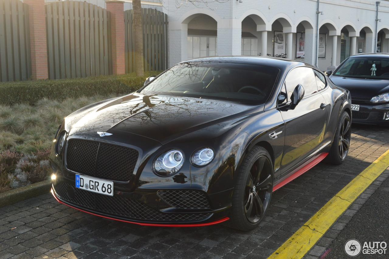 bentley continental gt speed black edition 2016 29 january 2017 autogespot. Black Bedroom Furniture Sets. Home Design Ideas