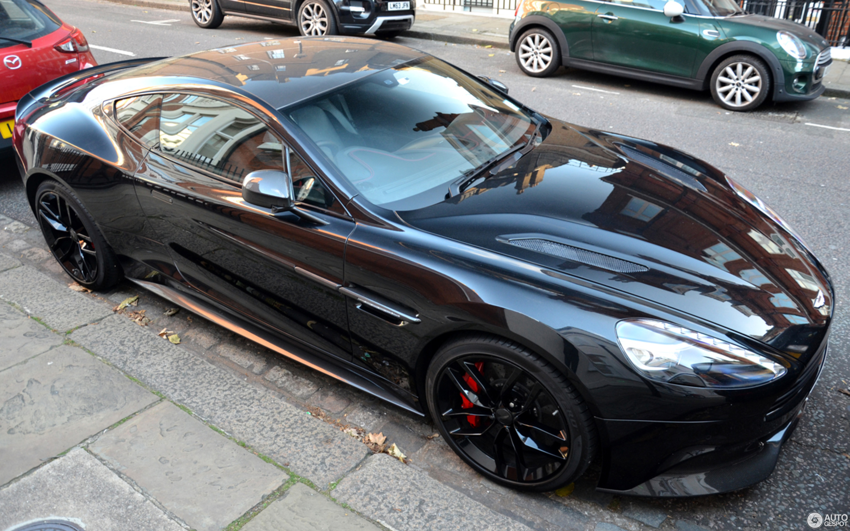 Aston Martin Vanquish Carbon Black Edition January - Aston martin vanquish black