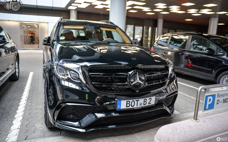 Mercedes Amg Brabus Gls 850 6 0 Biturbo 29 January 2017 Autogespot