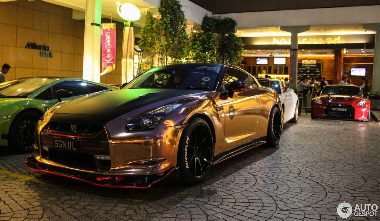 nissan gt r liberty walk widebody 30 january 2017 autogespot. Black Bedroom Furniture Sets. Home Design Ideas