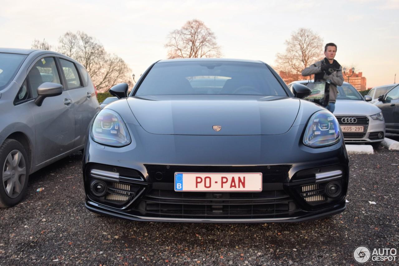Porsche 971 Panamera Turbo  30 January 2017  Autogespot