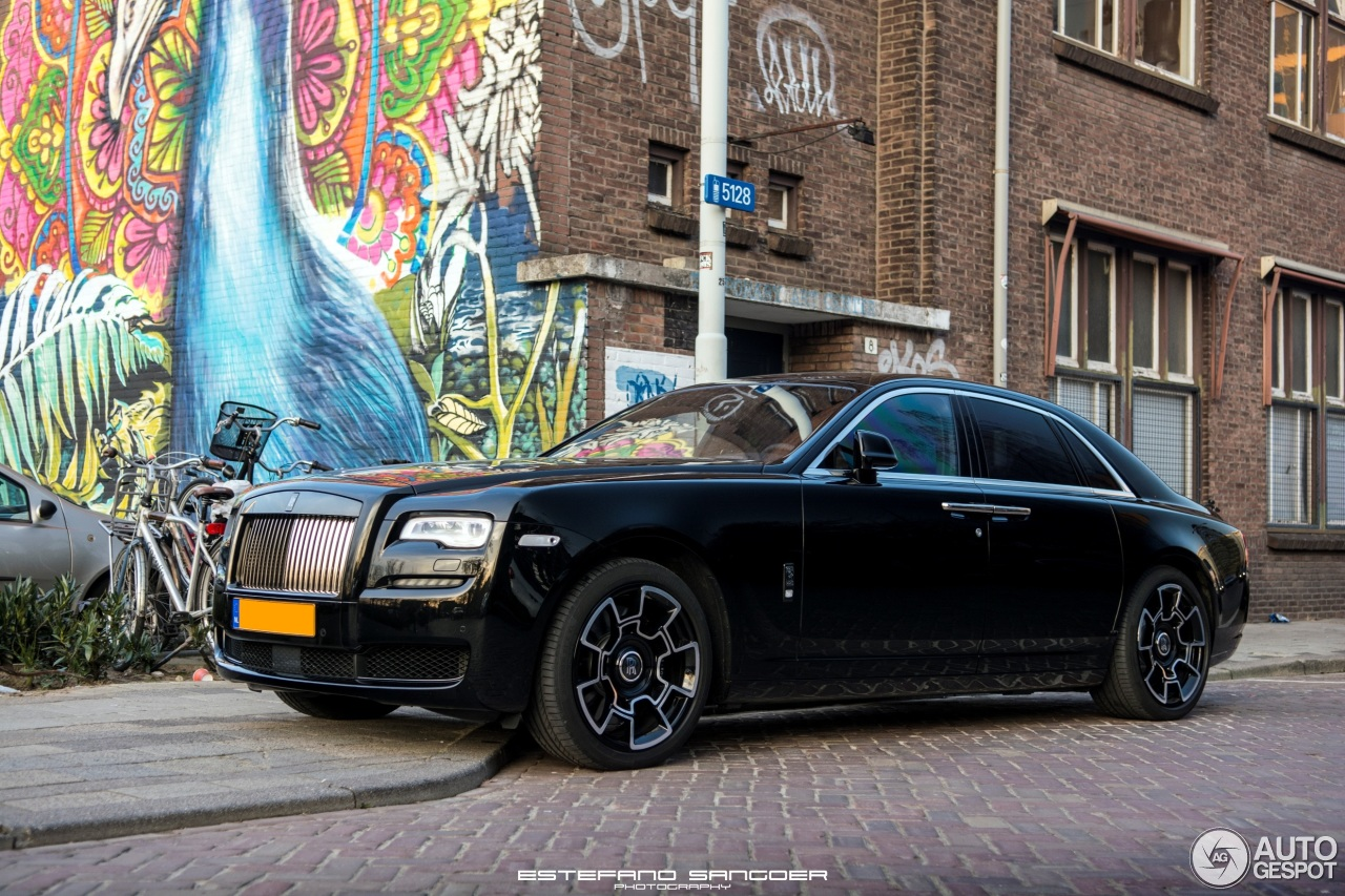 Rolls-Royce Ghost Series II Black Badge - 30 January 2017 ...