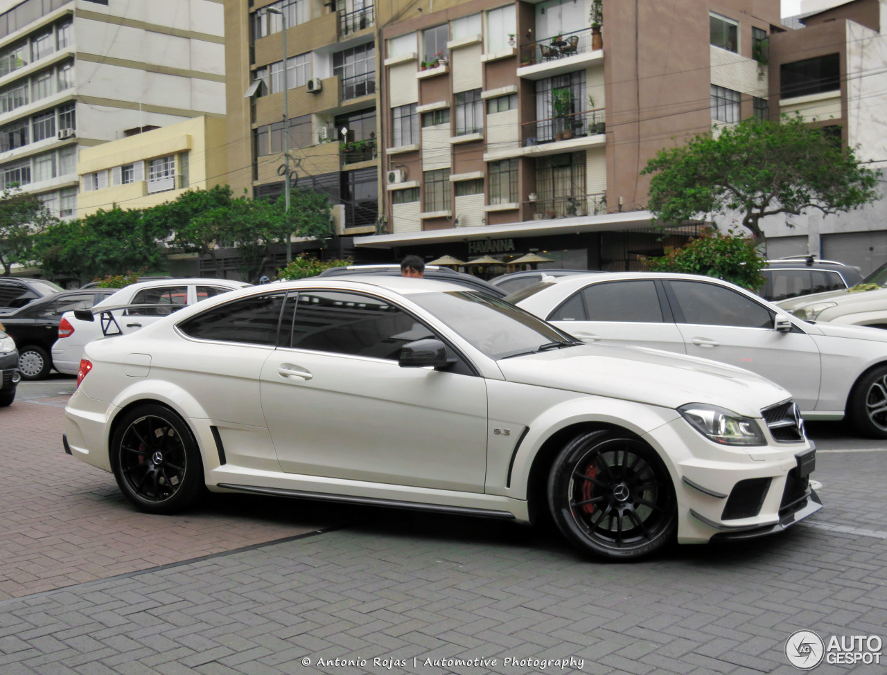 mercedes benz c 63 amg coup black series 31 january