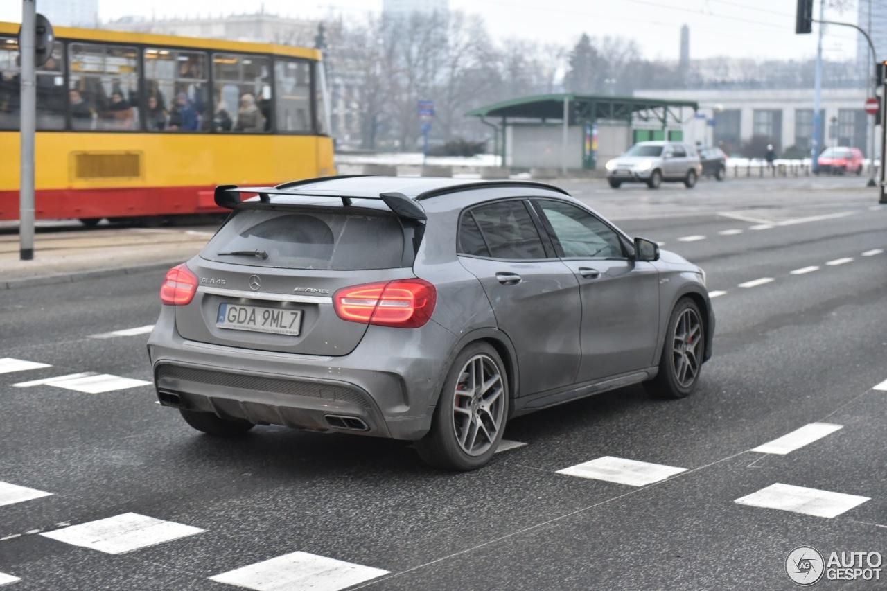 Mercedes benz gla 45 amg x156 1 fvrier 2017 autogespot for 2017 amg gla 45 mercedes benz