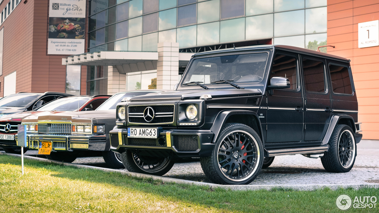 Mercedes benz g 63 amg 2012 2 februari 2017 autogespot for 2017 mercedes benz amg g 63
