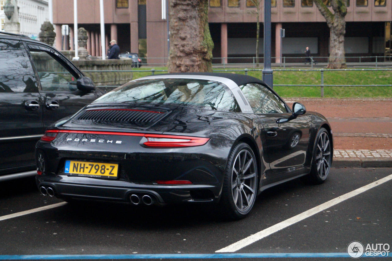 porsche 991 targa 4s mkii 3 february 2017 autogespot. Black Bedroom Furniture Sets. Home Design Ideas