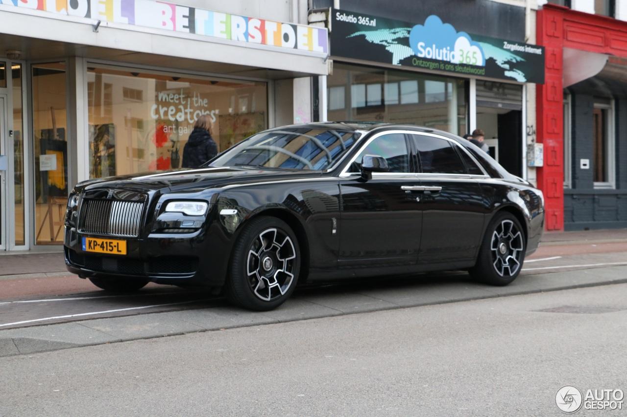 Rolls-Royce Ghost Series II Black Badge - 3 February 2017 ...