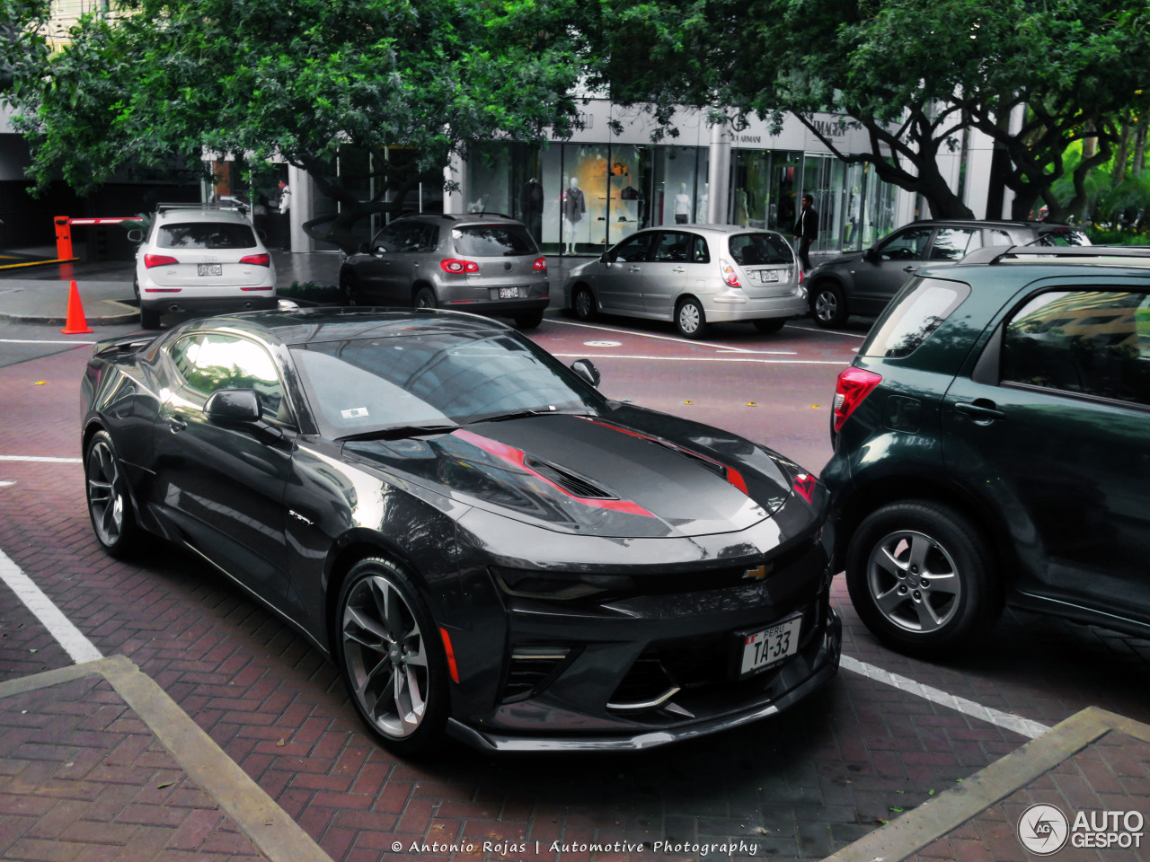 Chevrolet Camaro Ss 2016 50th Anniversary 4 February
