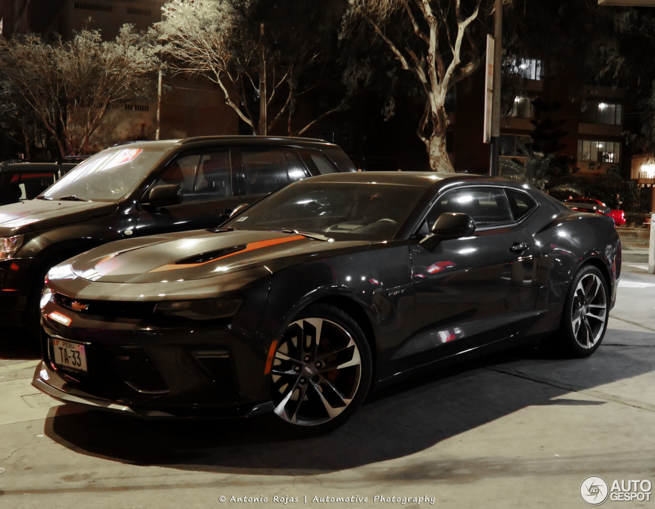 chevrolet camaro ss 2016 50th anniversary 4 february 2017 autogespot. Black Bedroom Furniture Sets. Home Design Ideas