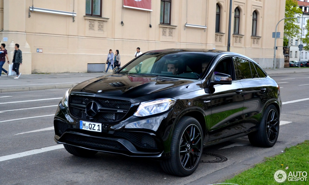 Mercedes amg gle 63 s coup 4 february 2017 autogespot for 2017 amg gle 63 mercedes benz