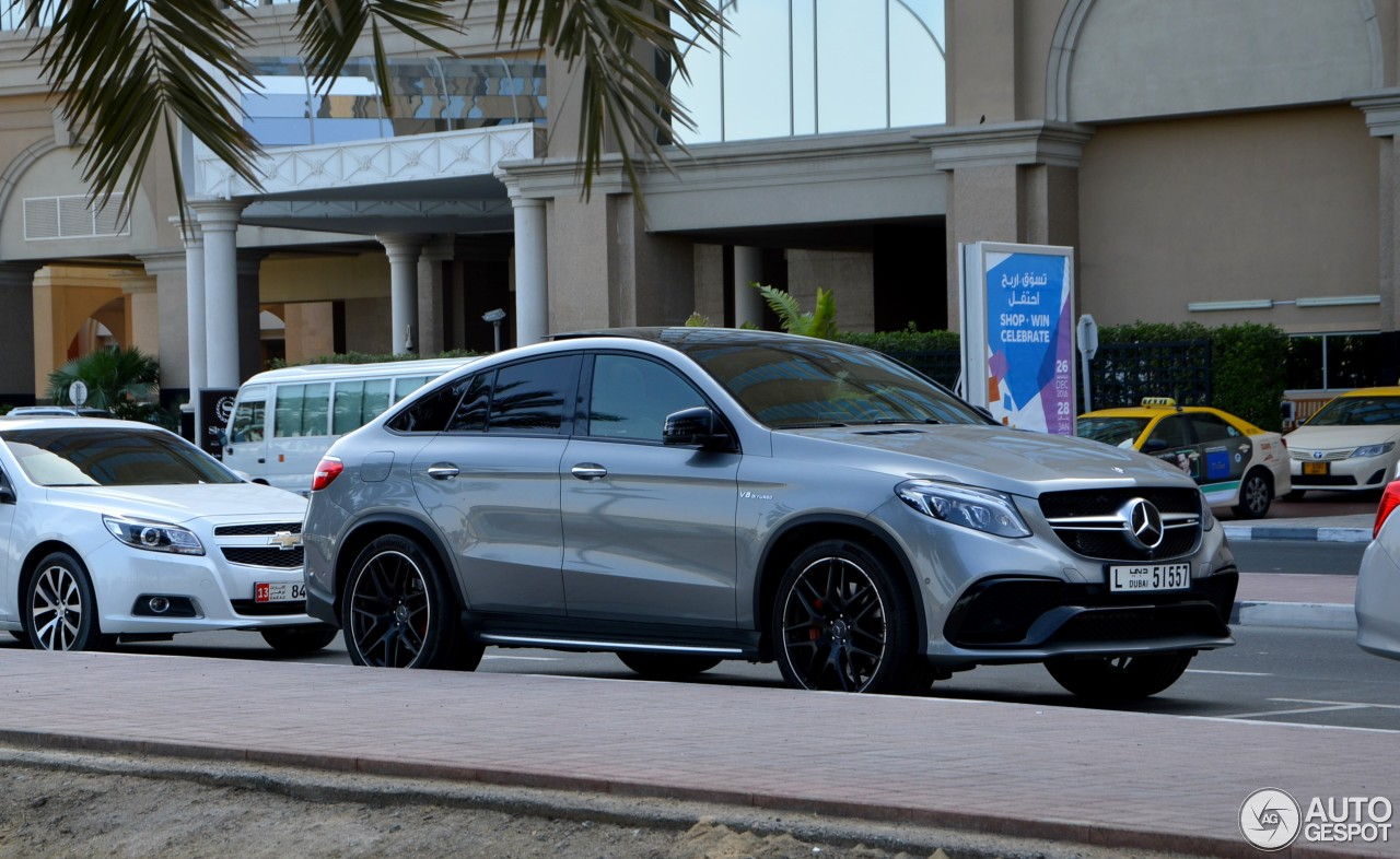 Mercedes amg gle 63 s coup 4 februar 2017 autogespot for 2017 amg gle 63 mercedes benz