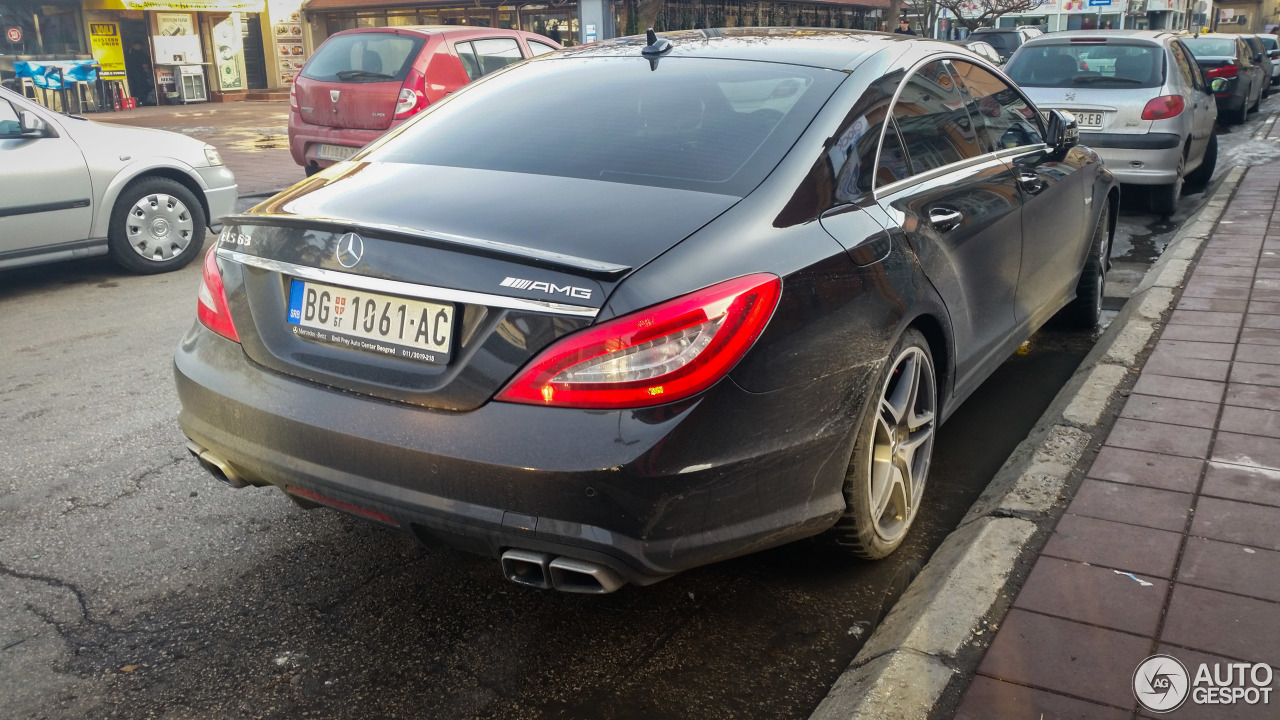 Mercedes benz cls 63 amg c218 4 februari 2017 autogespot for 2017 amg cls 63 mercedes benz