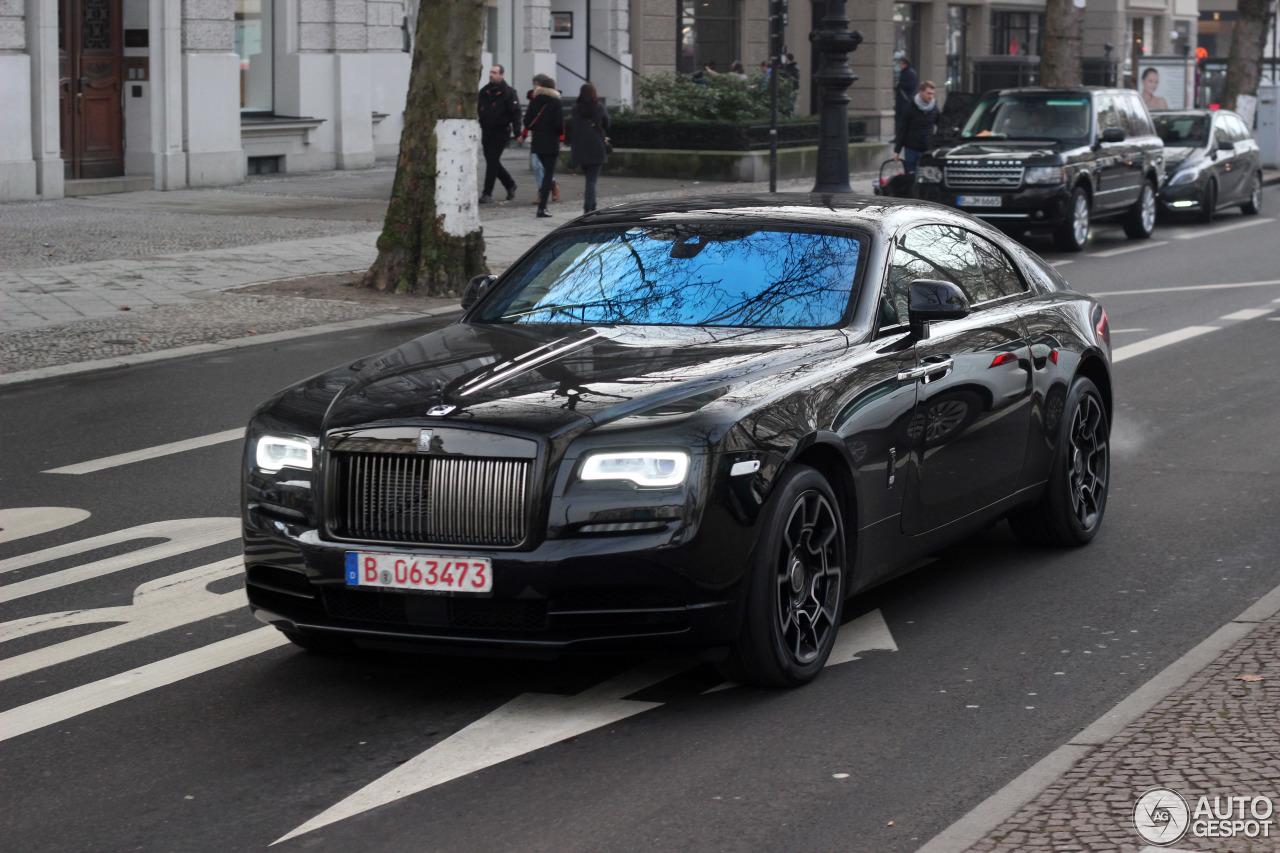 Rolls-Royce Wraith Black Badge - 4 February 2017 - Autogespot