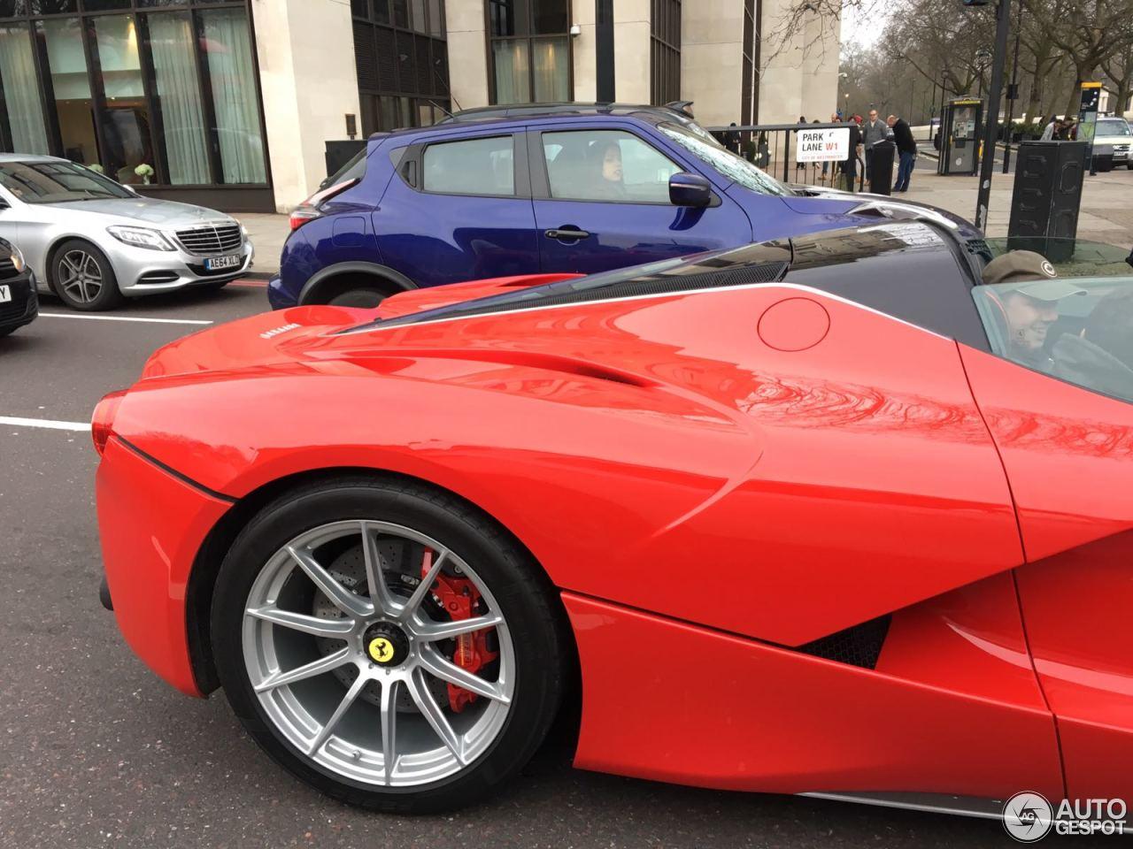 Beautiful Ferrari LaFerrari Aperta  5 February 2017  Autogespot