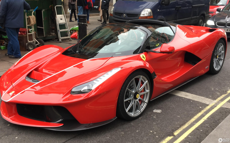 Ferrari Laferrari Aperta 5 Februar 2017 Autogespot
