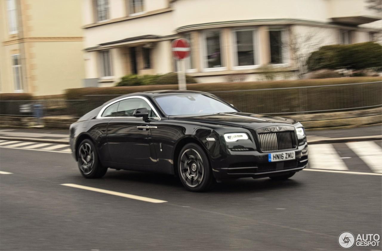 Rolls-Royce Wraith Black Badge - 5 fvrier 2017 - Autogespot