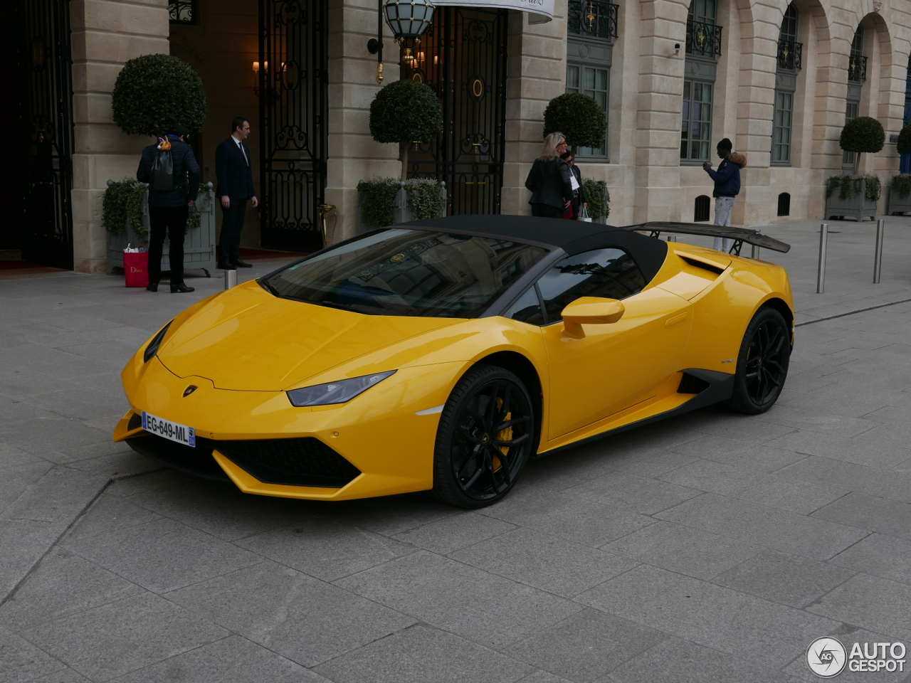 lamborghini hurac n lp610 4 spyder 6 fvrier 2017 autogespot. Black Bedroom Furniture Sets. Home Design Ideas