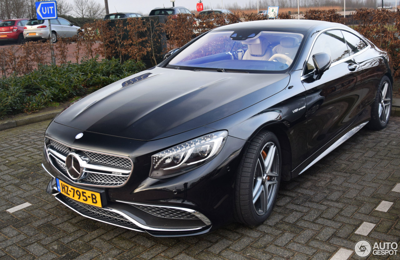 Mercedes benz s 65 amg coup c217 9 februari 2017 for Mercedes benz cl65 amg coupe