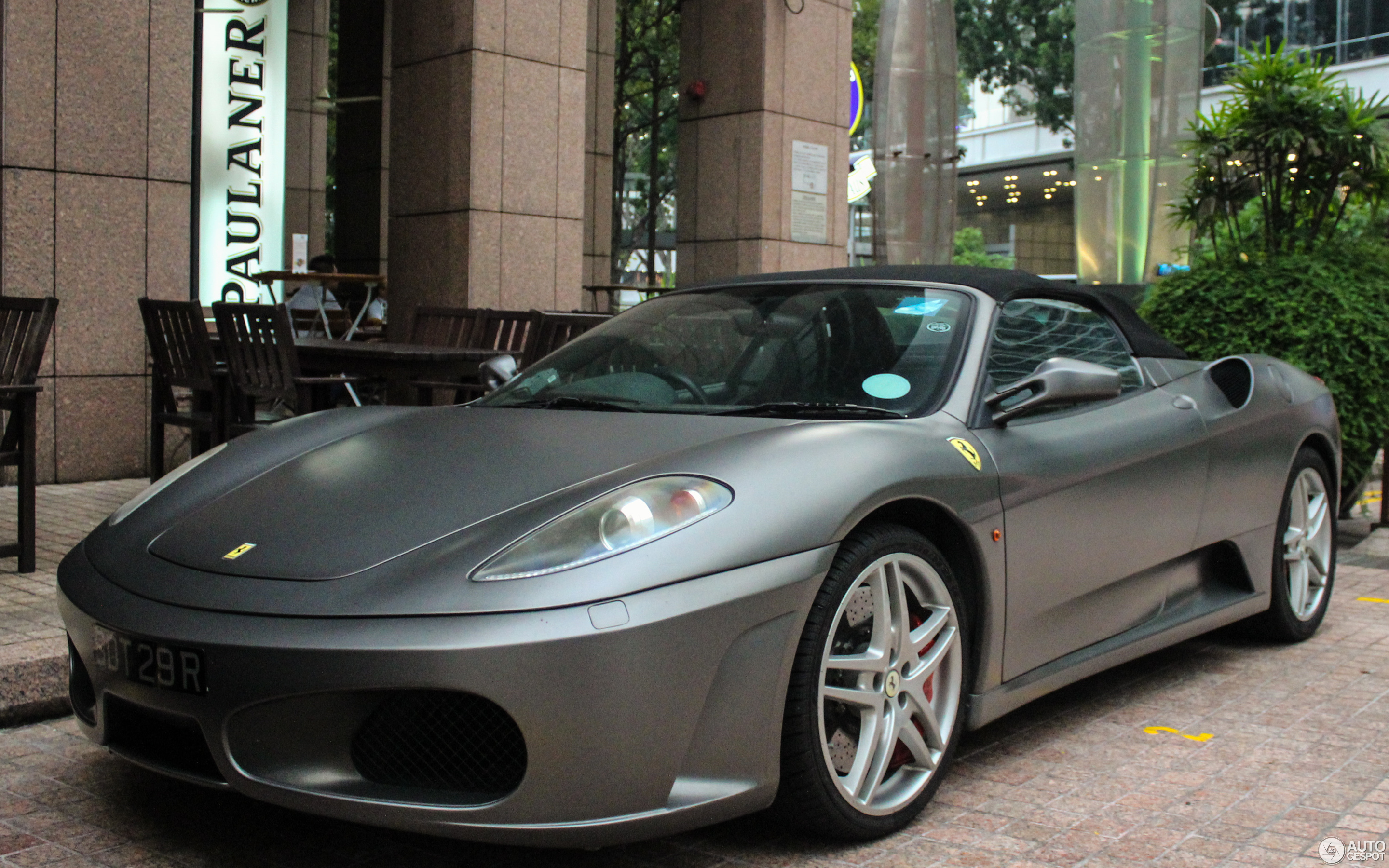 used sale for crop ferrari autogespot january spider