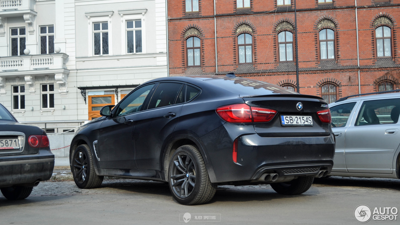 bmw x6 m f86 11 february 2017 autogespot. Black Bedroom Furniture Sets. Home Design Ideas
