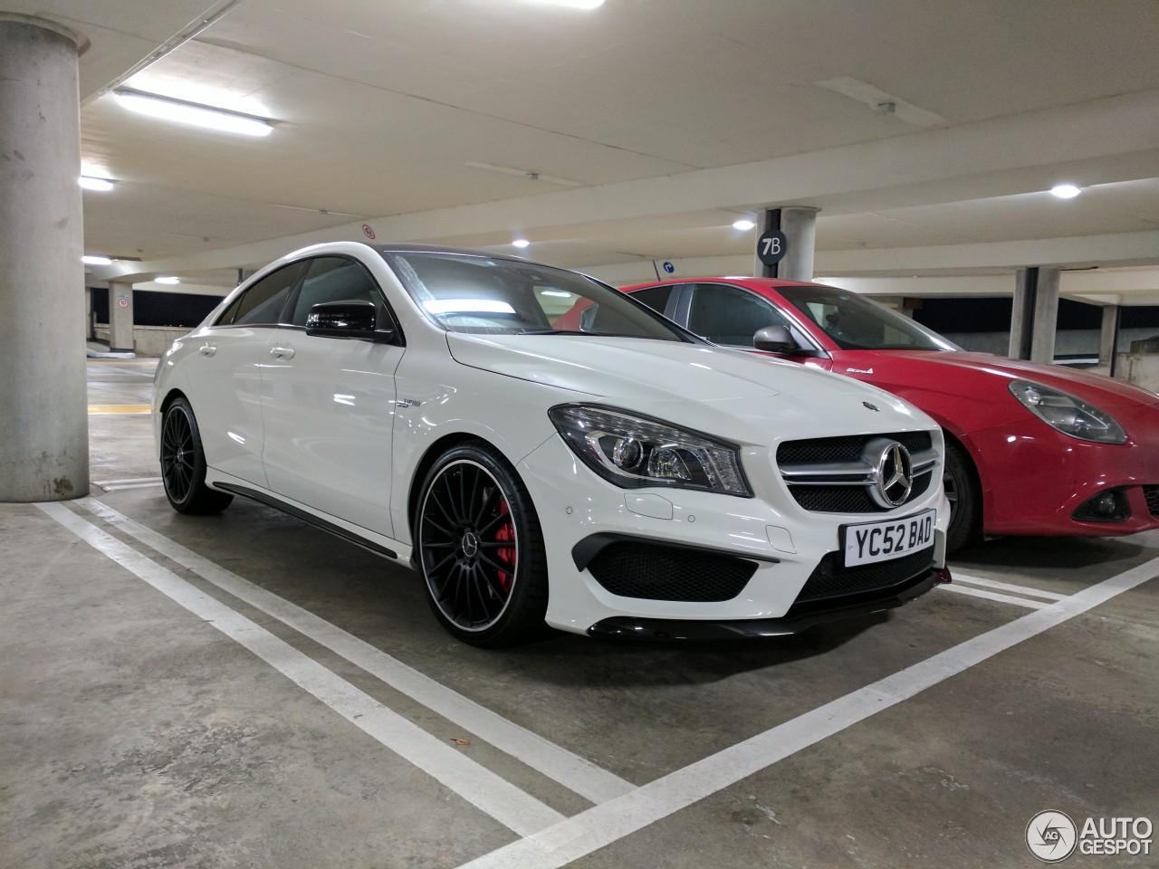 Mercedes benz cla 45 amg c117 11 february 2017 autogespot for Mercedes benz cla 2017