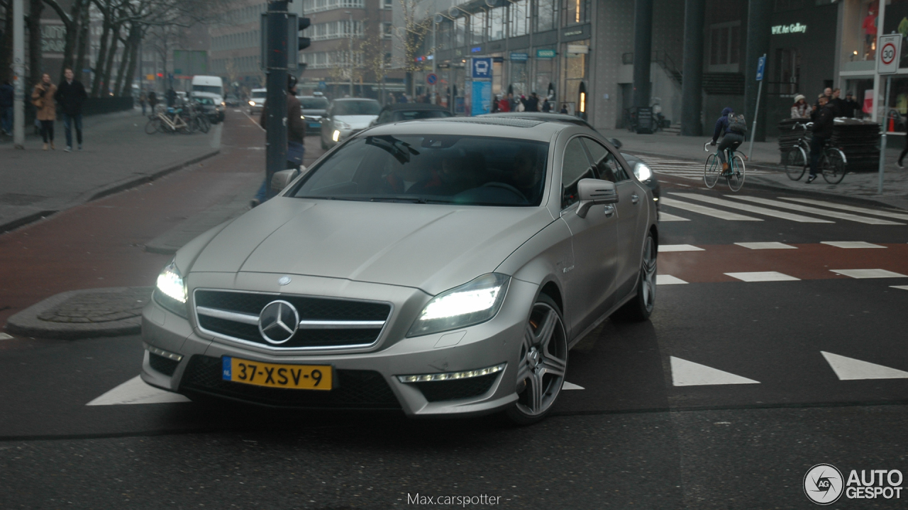 Mercedes benz cls 63 amg c218 11 february 2017 autogespot for 2017 amg cls 63 mercedes benz