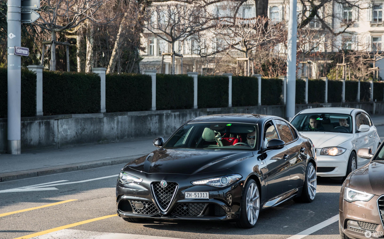 Alfa Romeo Giulia Quadrifoglio 11 Februar 2017 Autogespot