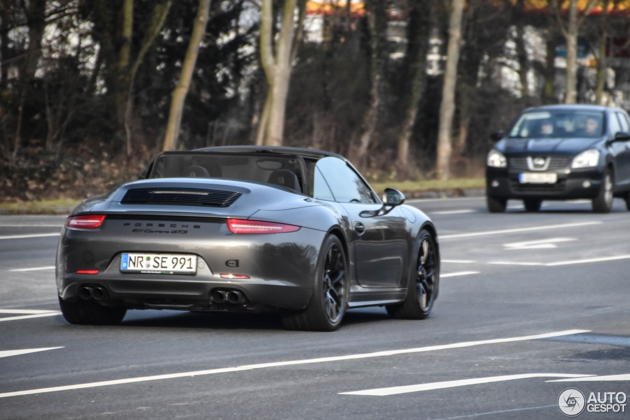 porsche 991 carrera gts cabriolet 12 february 2017 autogespot. Black Bedroom Furniture Sets. Home Design Ideas