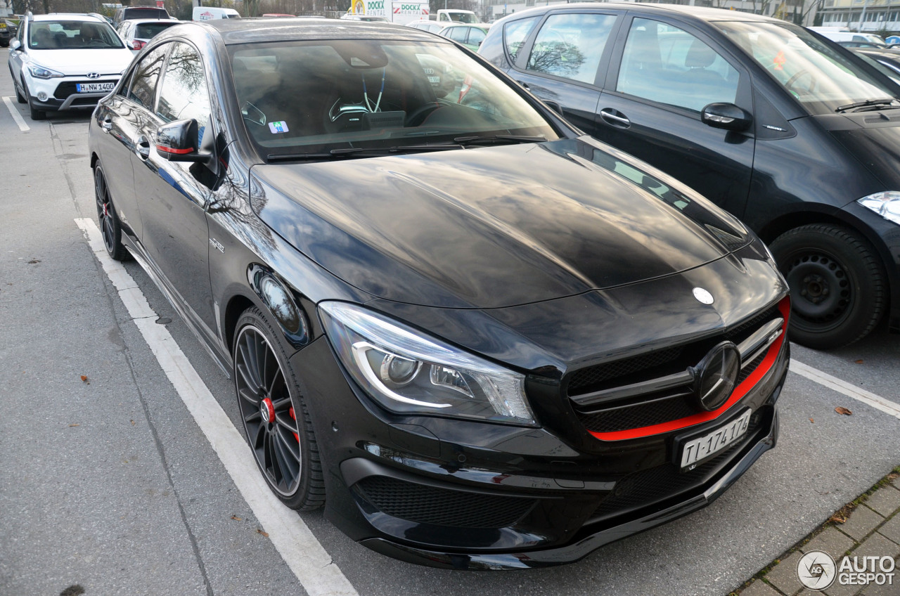 mercedes-benz cla 45 amg edition 1 c117 - 15 february 2017