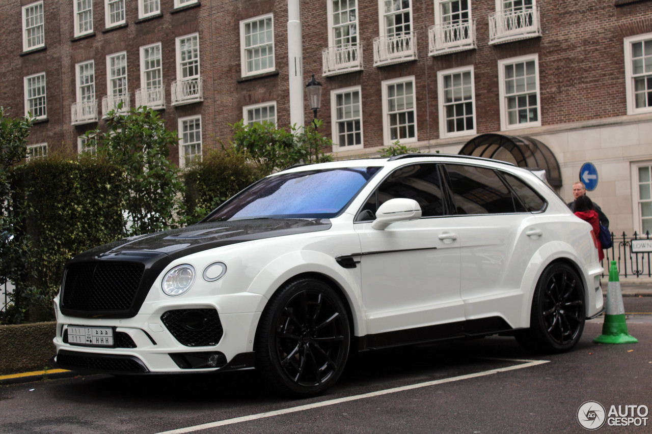 bentley mansory bentayga 16 february 2017 autogespot. Black Bedroom Furniture Sets. Home Design Ideas