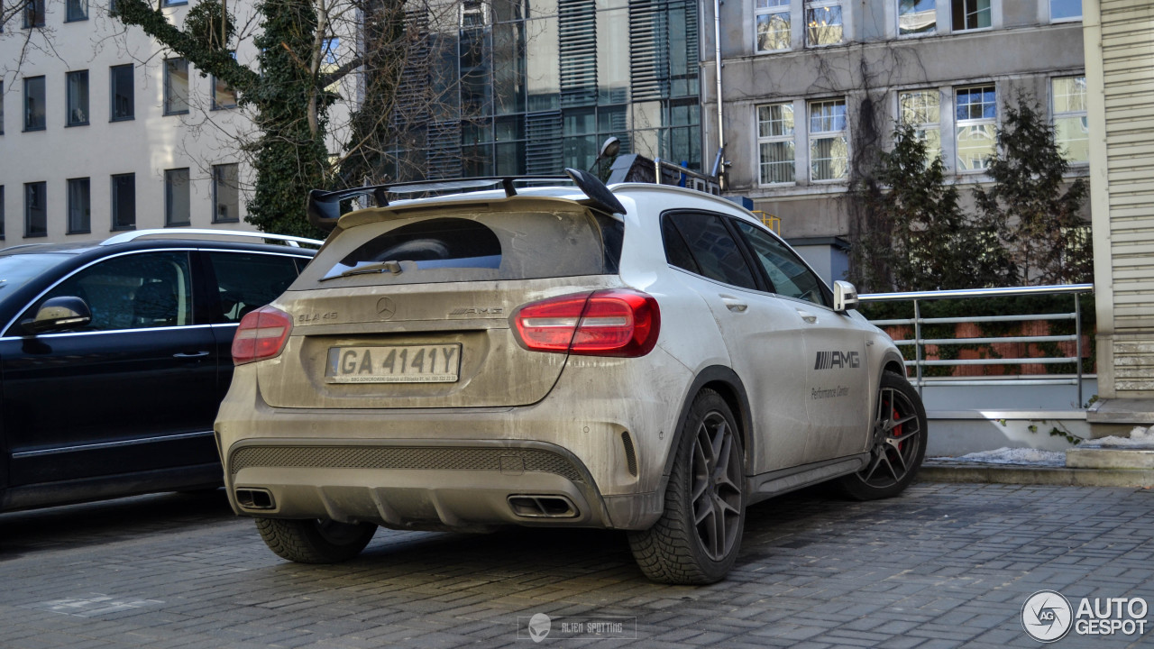 mercedes benz gla 45 amg x156 16 february 2017 autogespot. Black Bedroom Furniture Sets. Home Design Ideas
