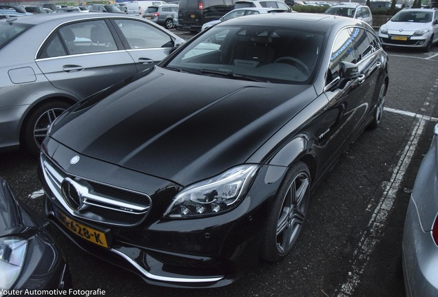 Mercedes-AMG CLS 63 X218 Shooting Brake 2016