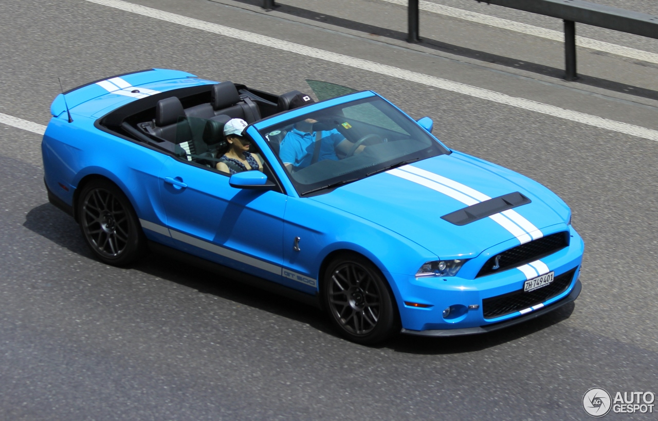 All Types 2010 mustang shelby : Ford Mustang Shelby GT500 Convertible 2010 - 17 February 2017 ...