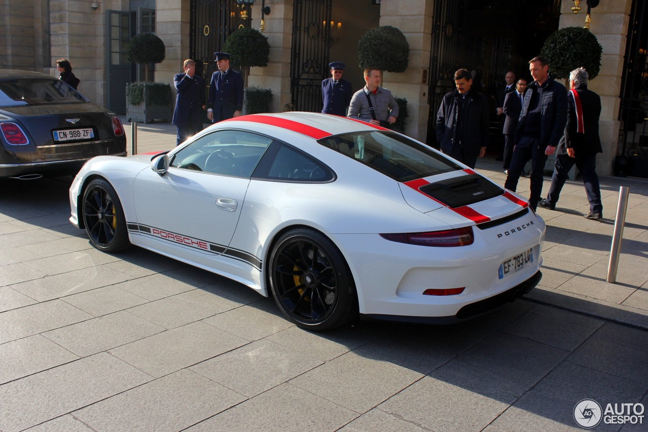 porsche 911 r 17 february 2017 autogespot. Black Bedroom Furniture Sets. Home Design Ideas
