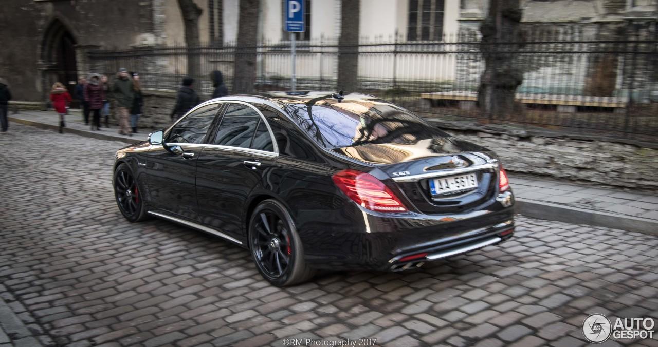 1 I Mercedes Benz S 63 Amg W222