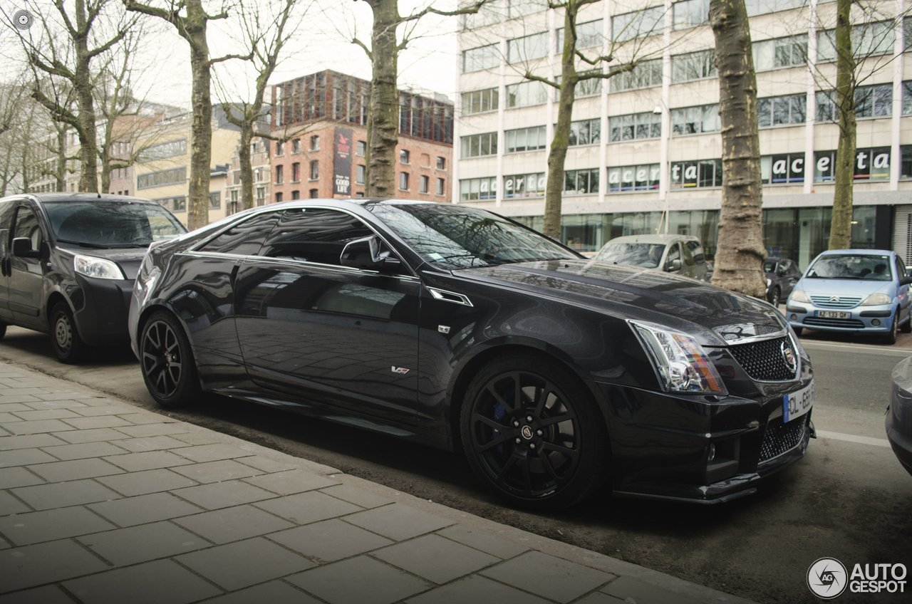 cadillac cts v coupe hennessey v700 19 februari 2017 autogespot. Black Bedroom Furniture Sets. Home Design Ideas