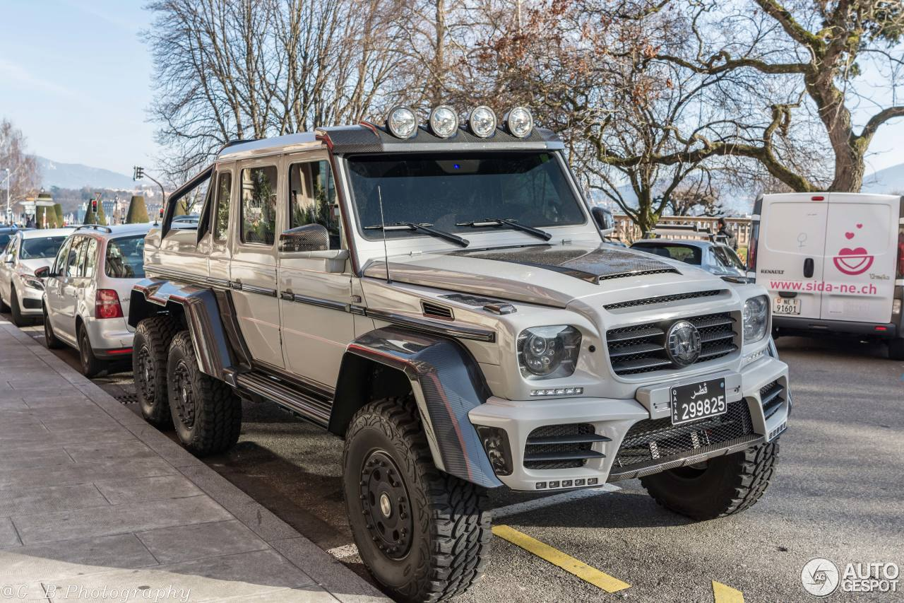 Mercedes benz mansory gronos g 63 amg 6x6 19 february for Mercedes benz g63 6x6 for sale
