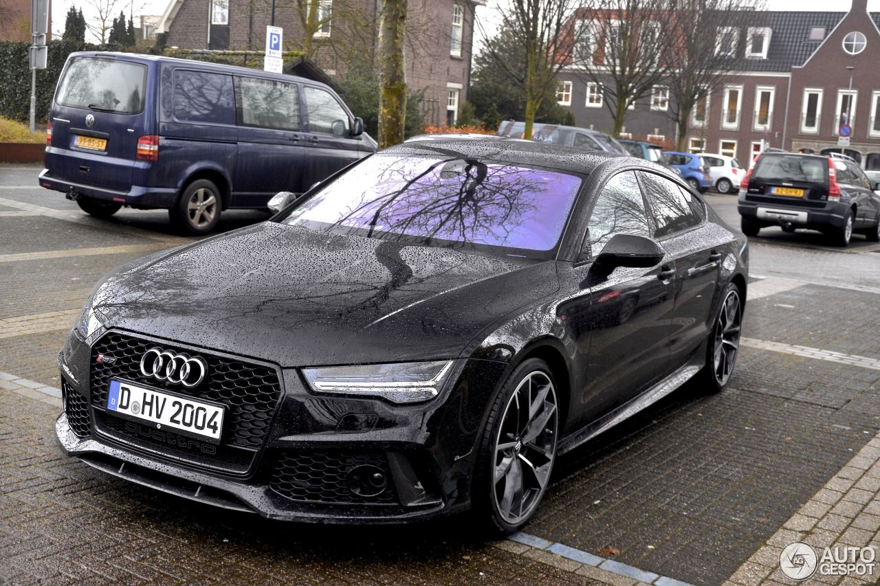 audi rs7 sportback 2015 performance 20 february 2017 autogespot. Black Bedroom Furniture Sets. Home Design Ideas